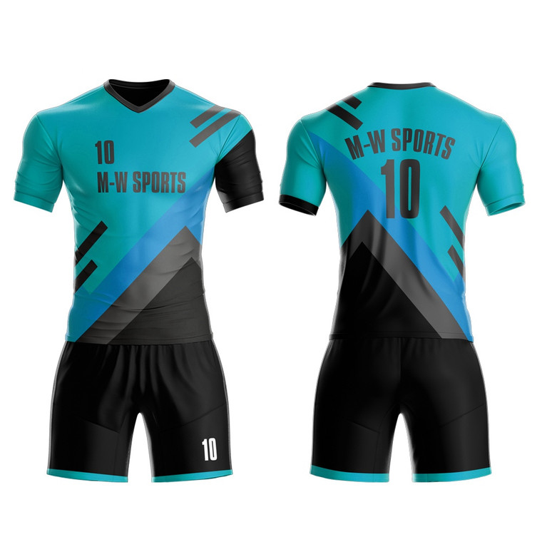 Custom Youth Soccer Football Team Jerseys Shirts Dry Fit Men Soccer Jersey Wear