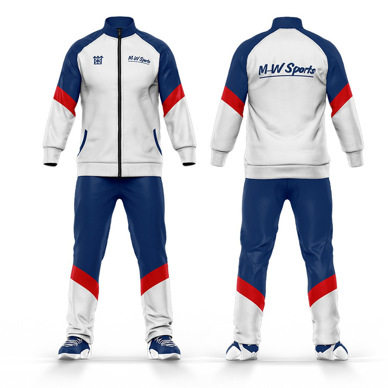 Custom Latest Design Sublimation Tracksuits Top And Bottom School Uniform Tracksuits