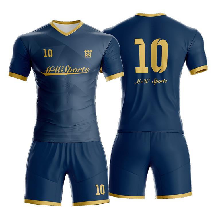 Latest Cool Design Patterns Soccer Wear Custom Sublimation Men Soccer Jerseys
