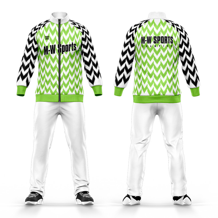 Custom Team Sports Suit Tracksuit Training Suit For Kids And Adult