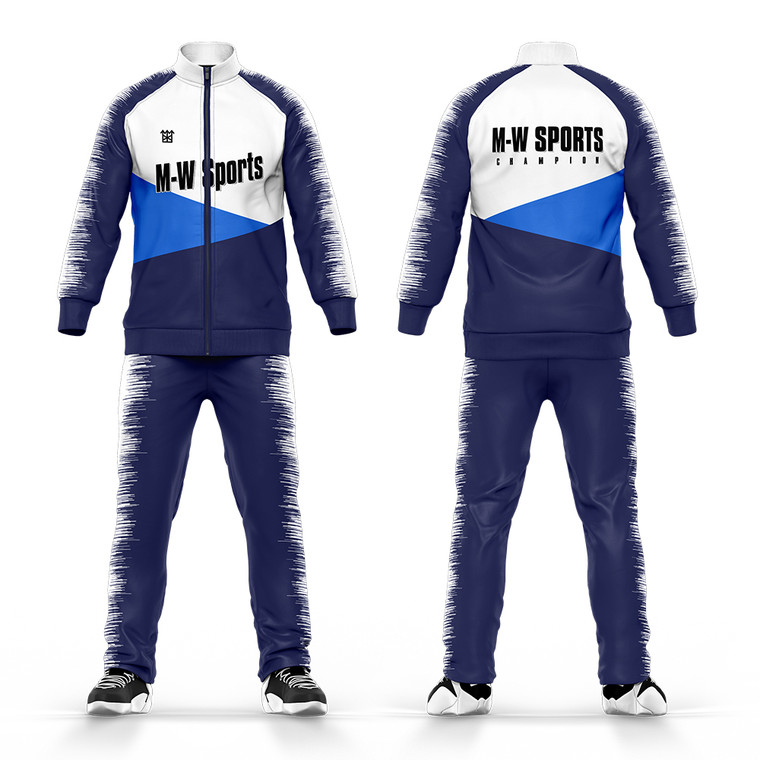 Mens Sportswear Gym Running Clothing Plain Jogger Suits Fitted Blank Tracksuits