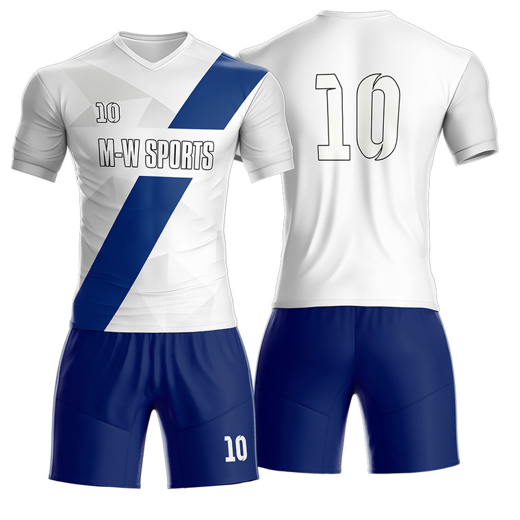 Buy Sublimated Team Uniforms High School Team Striped Soccer Jersey Online