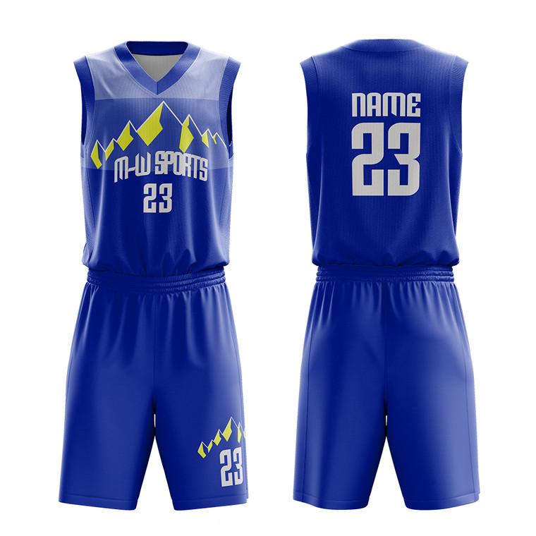 Design Your Own Custom Logo Blank Basketball Uniform Sublimation Printing Men Basketball Jerseys