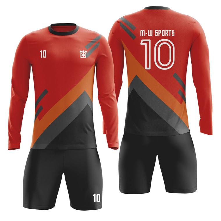 Custom Sublimation Youth Goalkeeper Jersey Soccer Wear
