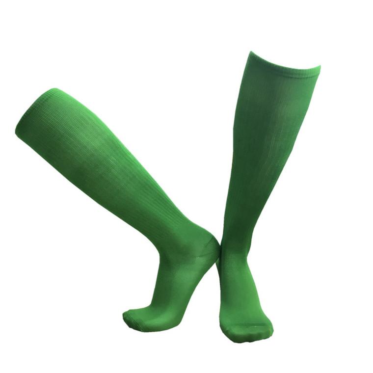 High Quality Professional Soccer Team Plain Soccer Socks