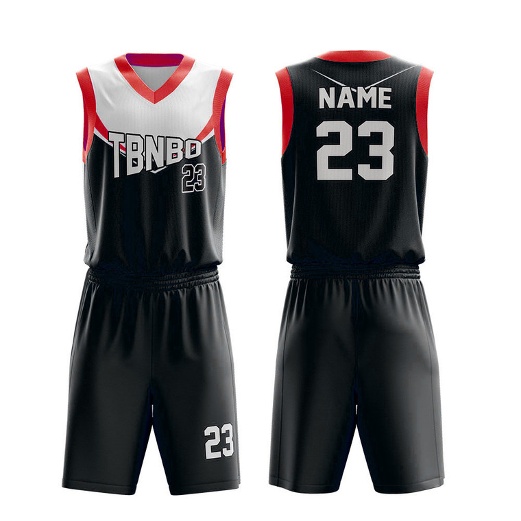 Full Sublimation Printing Basketball Uniforms Customized Basketball Jerseys High School Basketball Sports Wear