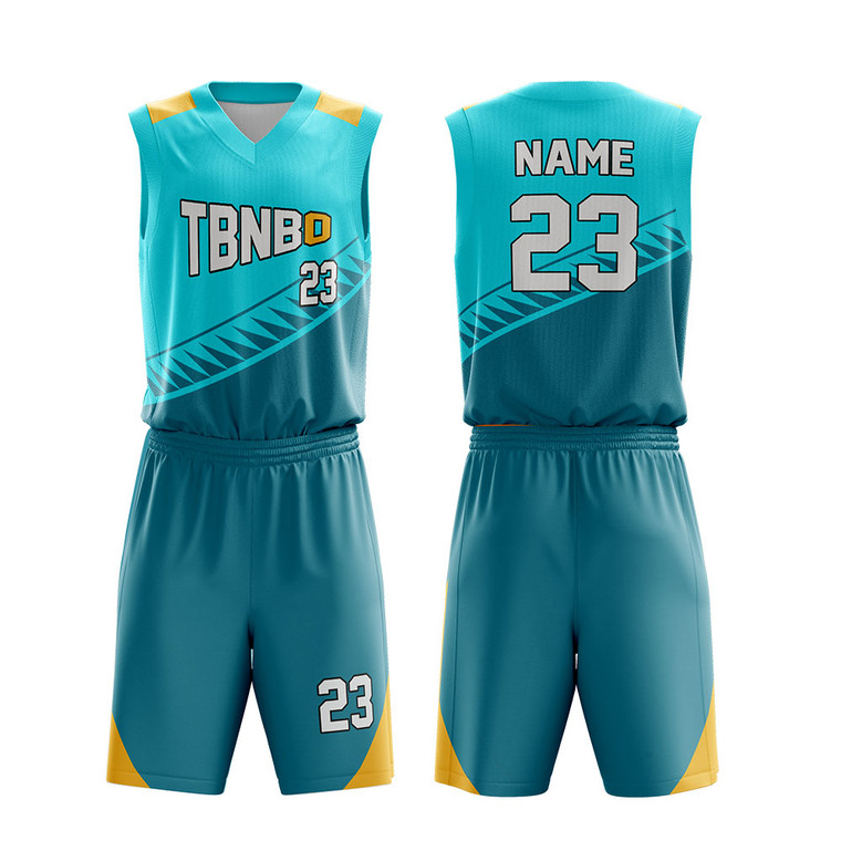 Customize High Quality Personalize Logo Name Number Basketball Uniforms
