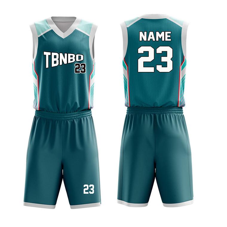 Dry Fit Breathable Basketball Uniforms Custom Logo Sublimated Printing Basketball Jerseys