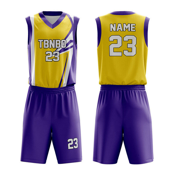 Fully Sublimation Customized Your Own Team Unique Cool Basketball Uniforms