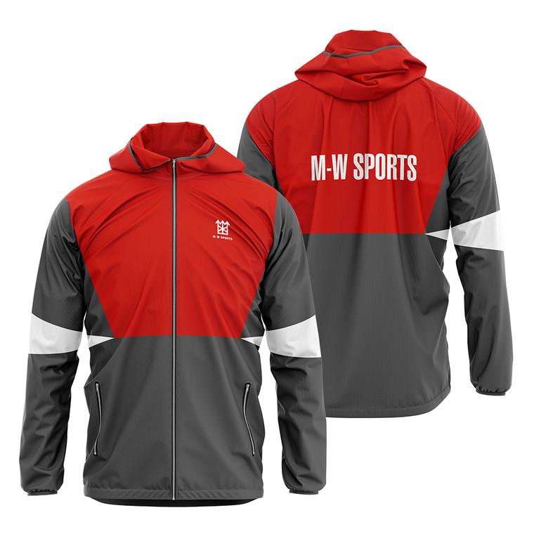 Custom Windbreaker Men Outdoor Hiking Sportswear  Men's Hooded Jacket
