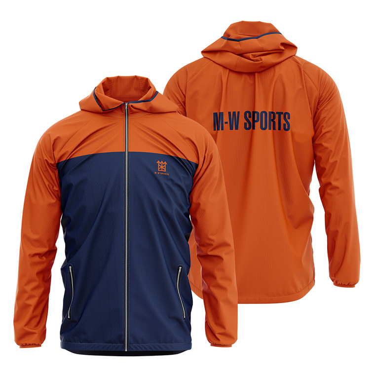 Latest Casual Fashion Design Sports Jackets Sublimated Mens Zipper Up Windbreaker