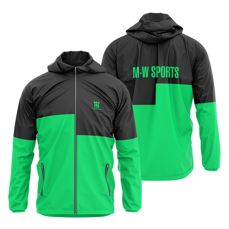 New Arrival Gym Sportswear Men's Jackets Customized Sublimation Windbreaker For Men
