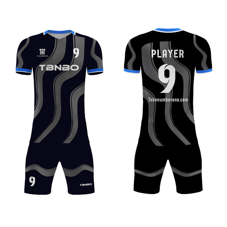 Team Football Jersey Sublimated Soccer Jersey Uniform For Team Games And Practice