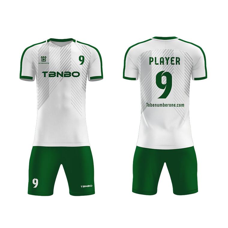 New Season Soccer Team Uniform Customized Logo Breathable Quick Dry Player Games Soccer Jerseys