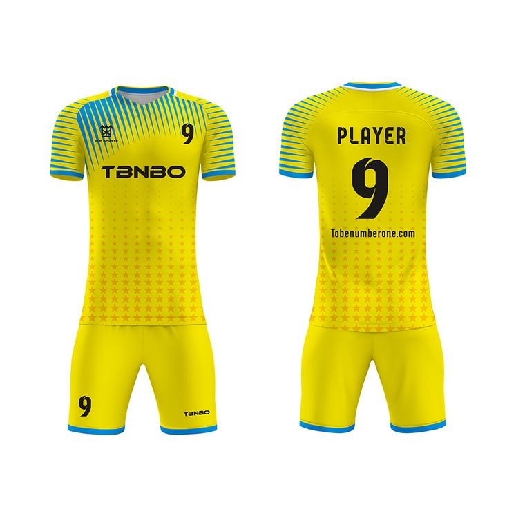 Dri Fit Custom Jersey Soccer Wear Casual Suit Outdoor Football Soccer Jersey