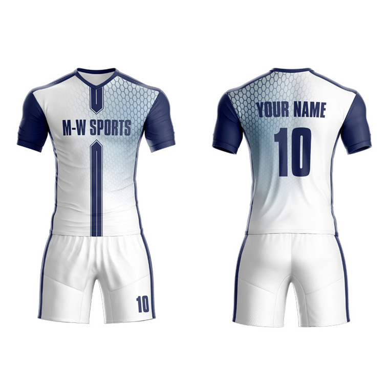Customized Popular And Unique Soccer Jersey Design Sublimated Scale Pattern Soccer Team Wear