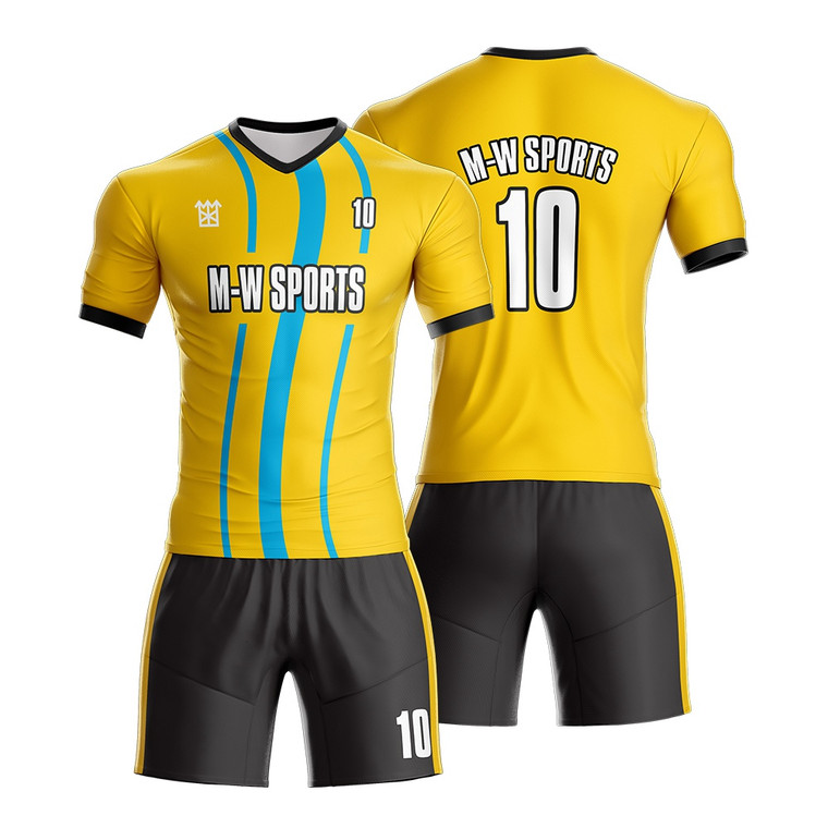 Custom Football Jersey With Team Name Sublimated Sports Practice Soccer Jerseys