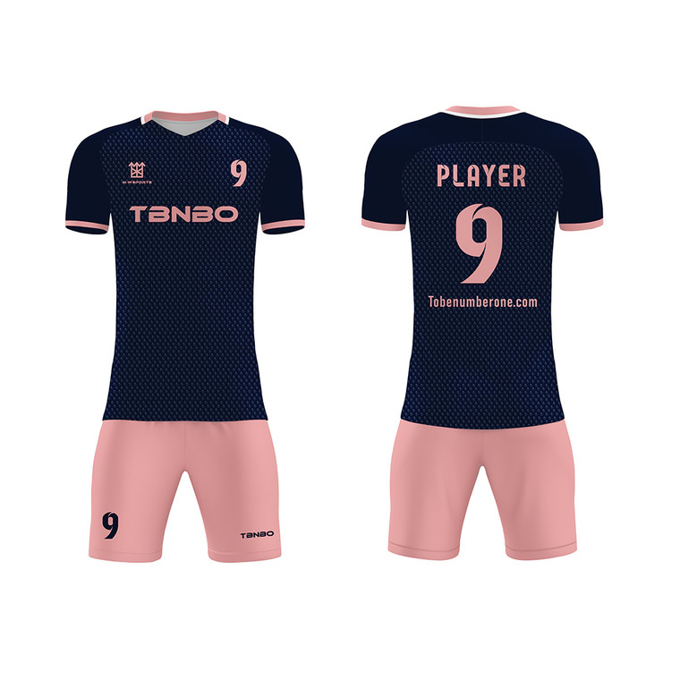 Cool Youth Team Wear Soccer Uniforms Latest Design Football Jerseys