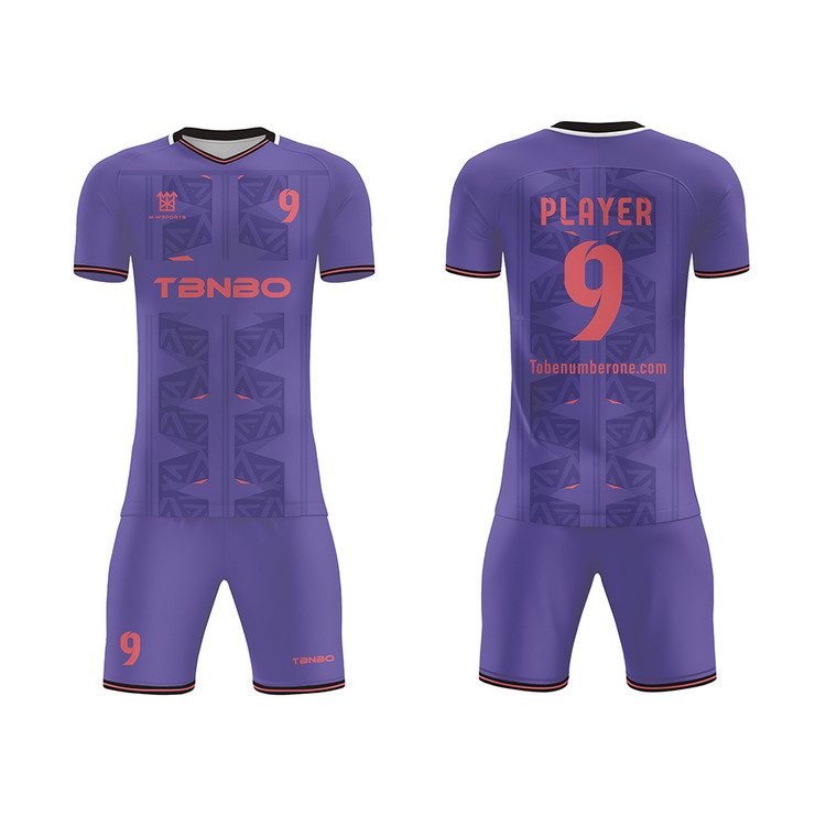 New Design Customized Soccer Sports Wear Top Quality Sublimated Team Soccer Football Jerseys Kits