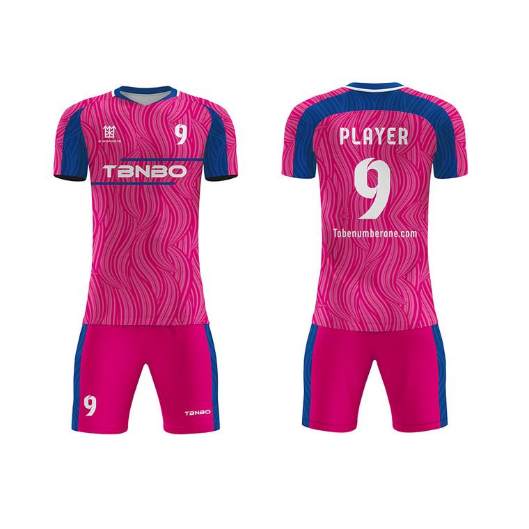 Design Custom Top Thai Quality Sublimated Quick Dry Soccer Uniforms Training Kits Football Jerseys