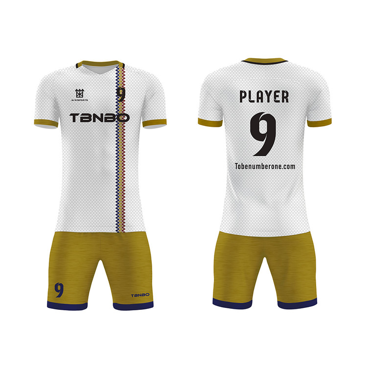 High Quality Latest Chinese-made Football Uniforms Sublimation Custom Team Soccer Jersey