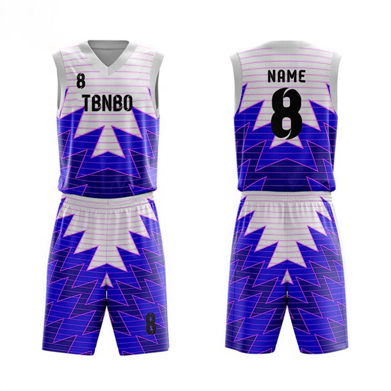Wholesale Best Price High Quality Sublimation Printing New Design Custom Basketball Jersey
