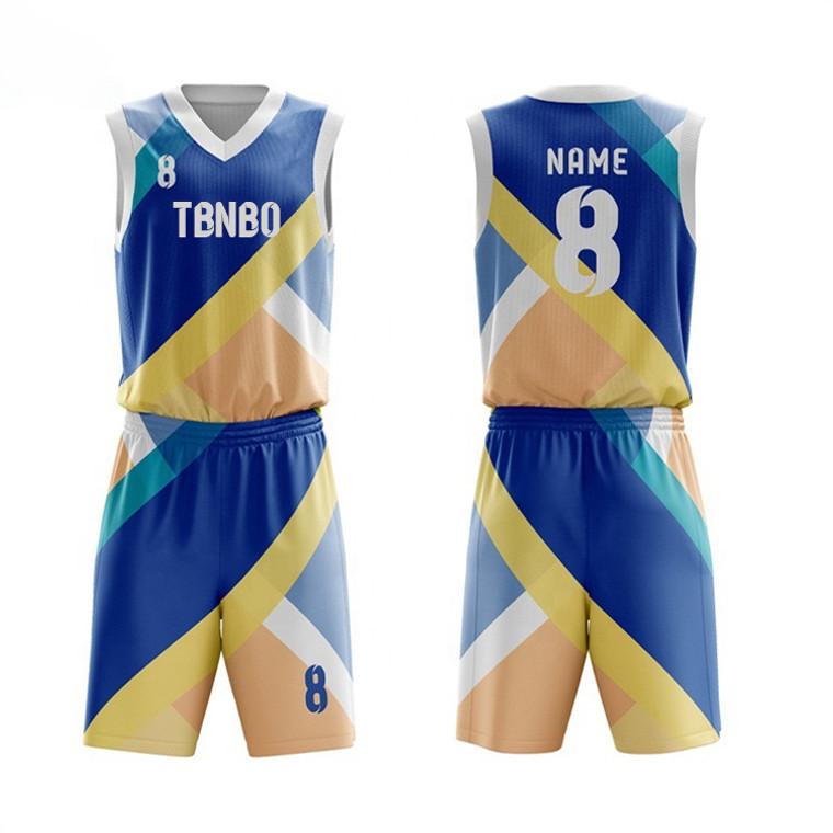 Custom School Training Sleeveless Shirts Mens Latest Basketball Jersey Design