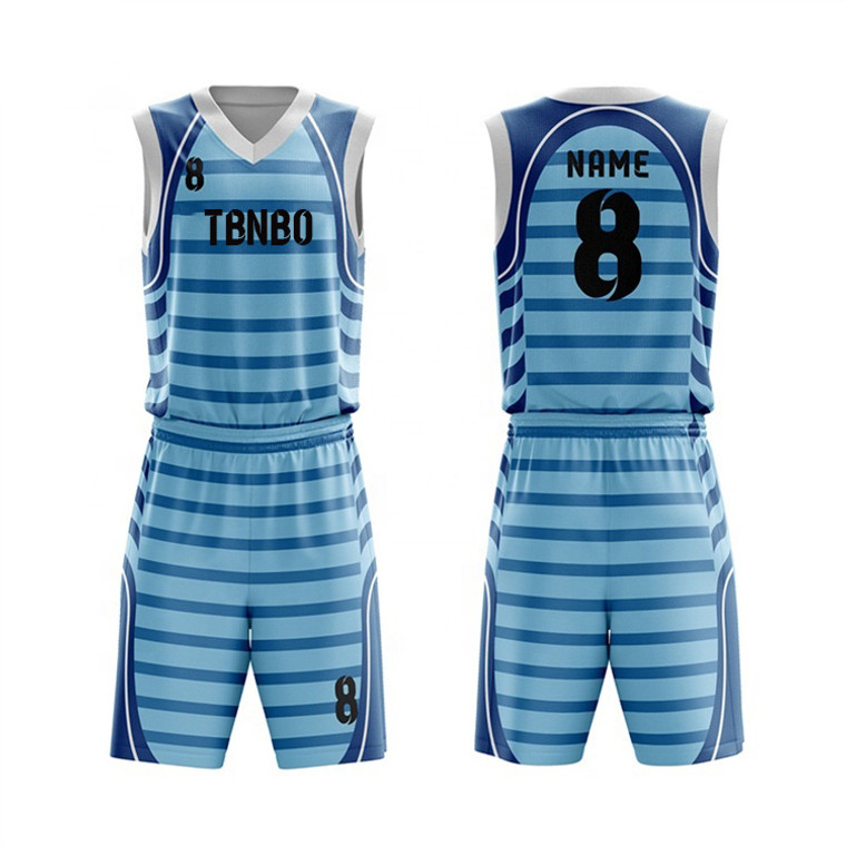 100% Polyester Made High Quality Basketball Uniform Design Basketball Jersey And Shorts
