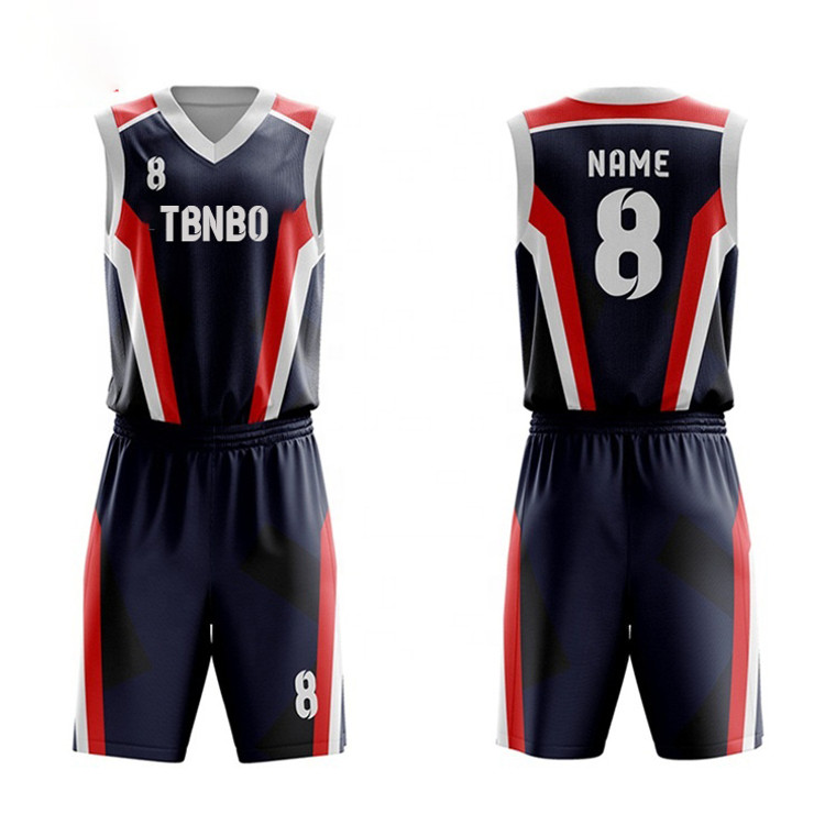 Best Selling Basketball Jersey Uniform Design Team BaskeSports Kit Clothing