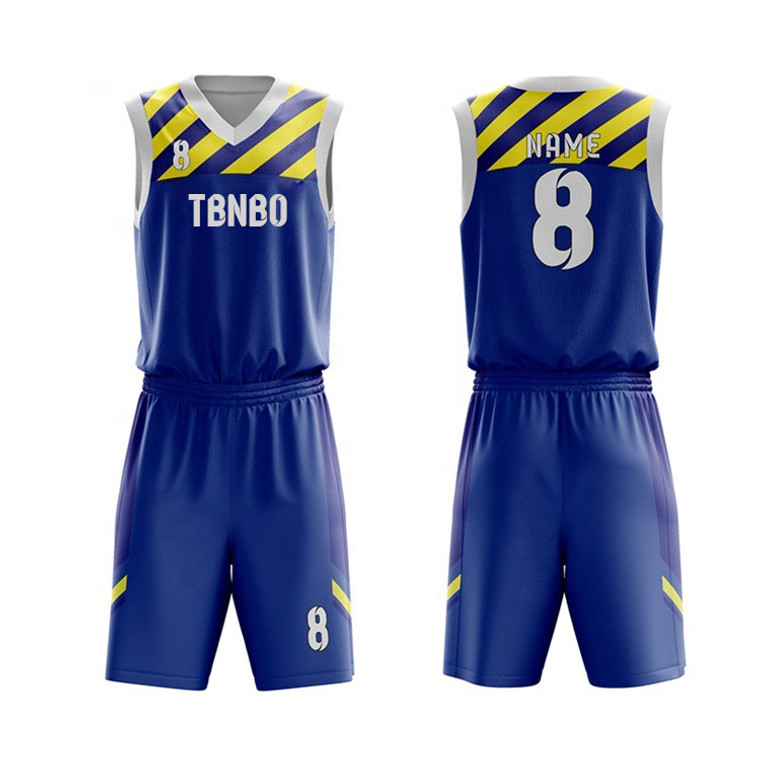 Custom Personalized Team Uniforms High Quality Basketball Jersey For Gaming And Training
