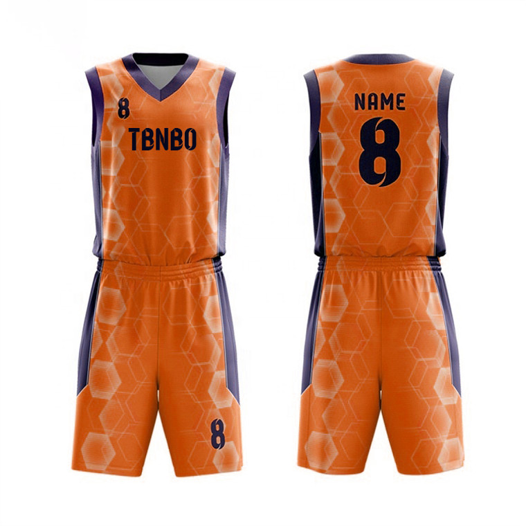Youth And Men Polygonal Pattern Basketball Jersey Design Cheap College Basketball Shirts And Shorts