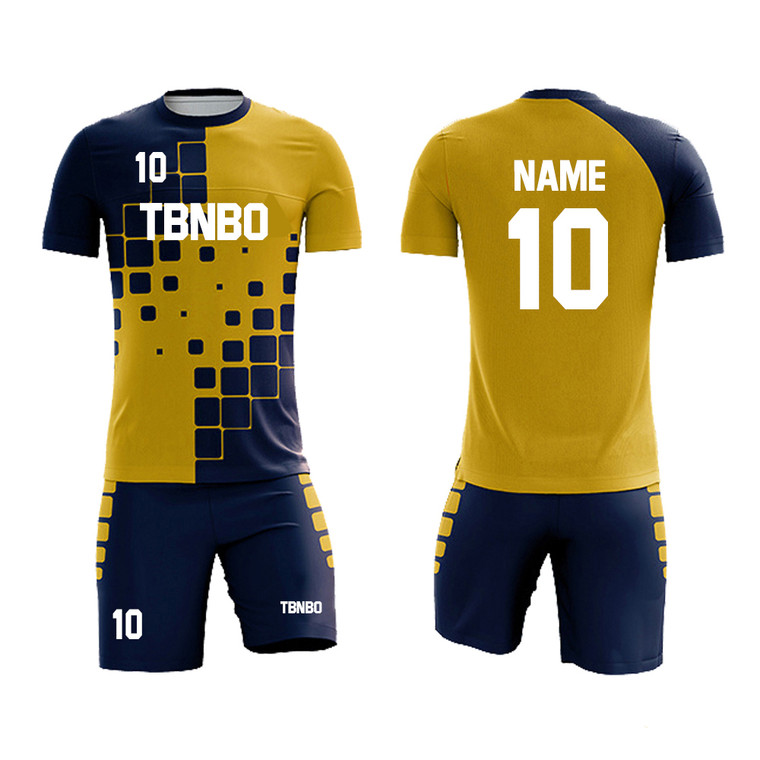 Custom Made Soccer Jersey Clothing 100% Polyester Sublimation Men Soccer Wear For Team