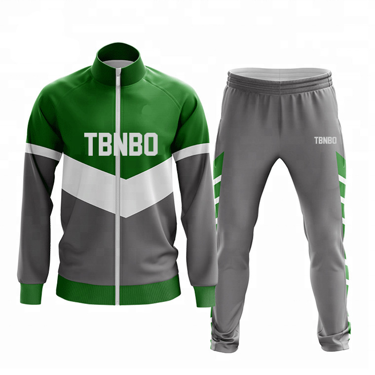 Custom Blank Mens Sets Tracksuits With Stripe Polyester Jogging Suits Men Autumn Winter Plain Training Sportswear