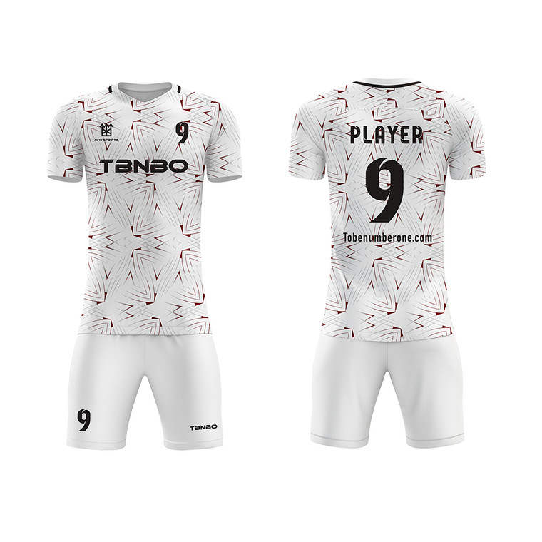 Latest Design Sublimated Football Team Jersey Soccer Uniform For Men And Youth Training