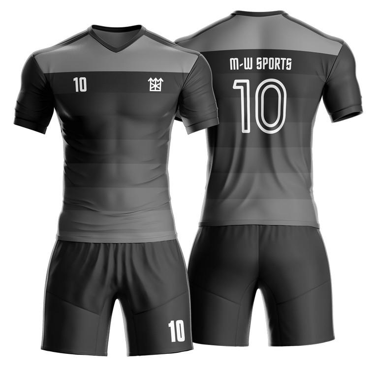 Make Your Own Short Sleeve Soccer Jerseys Sublimated Football Team Training Kits