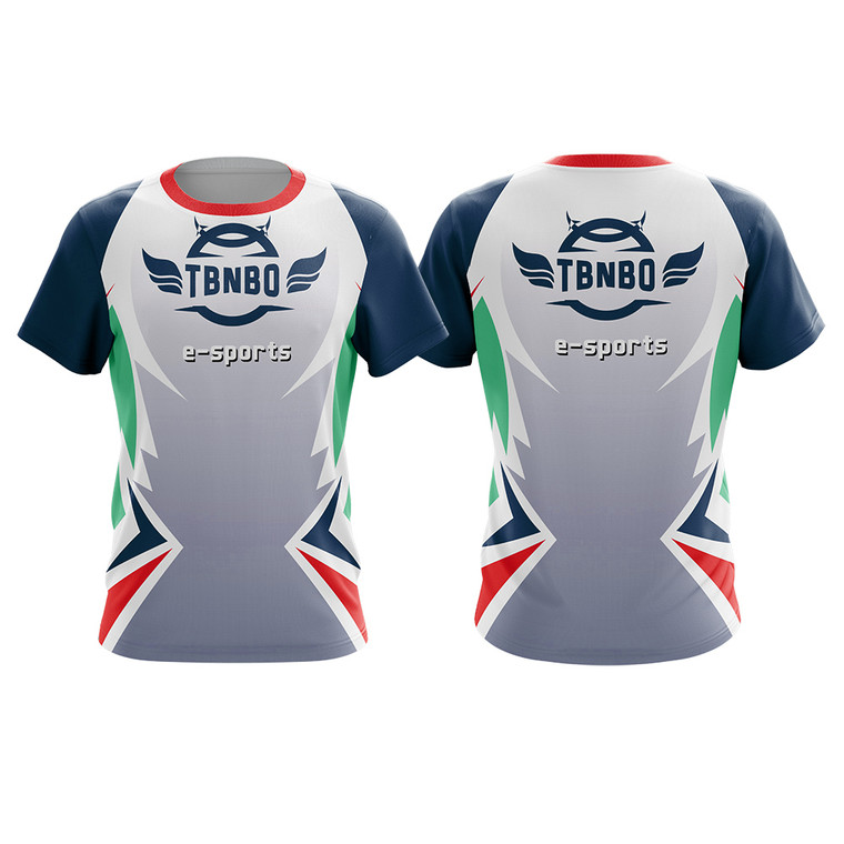 100% Polyester Sublimation Fully Customized Esports Jersey Uniform For Team Gaming