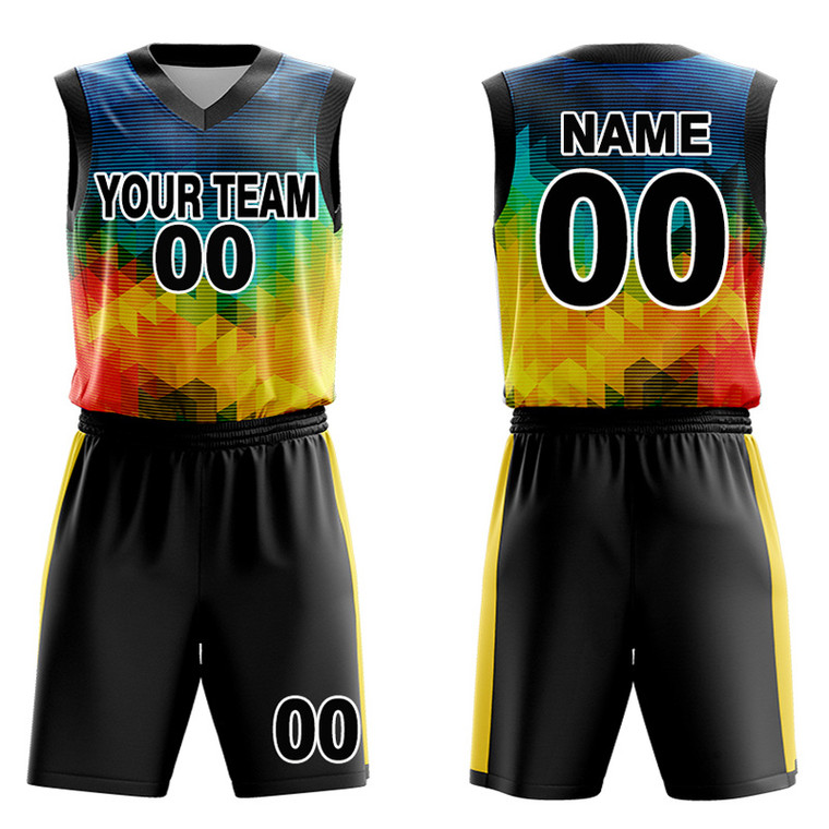 Custom Team Basketball jerseys and shorts - Make Your OWN Jersey - Personalized Team Uniforms