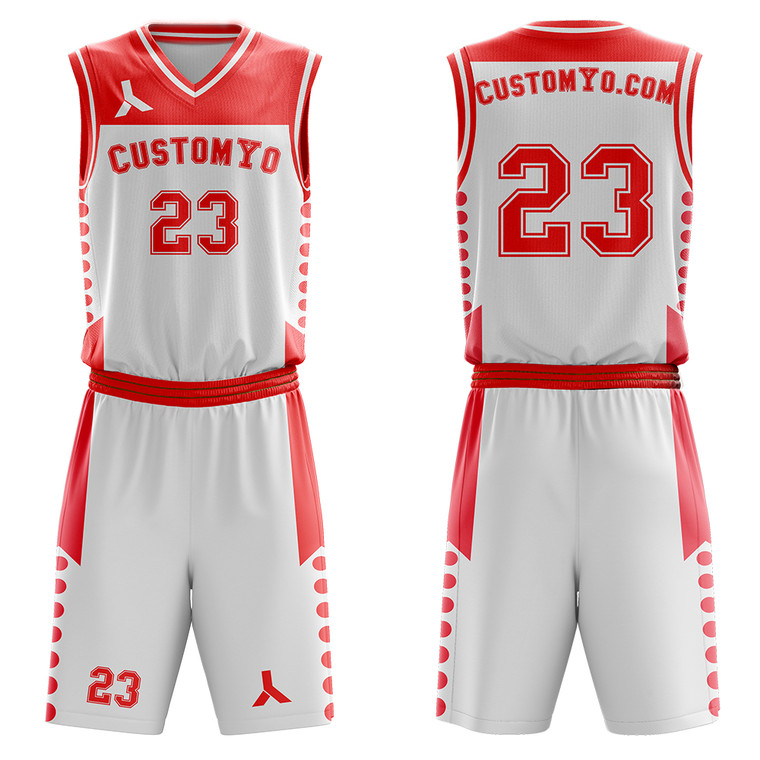 wholesale Custom team basketball jerseys for men youth kids sports uniforms free add name, logo, number