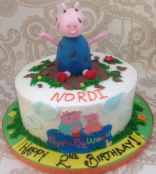 George Pig Cake- KC0011