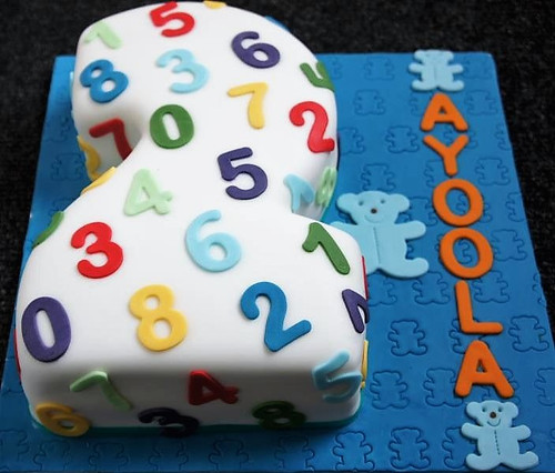 Number Cake for Boys