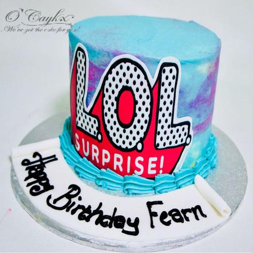 LOL Photo Cake