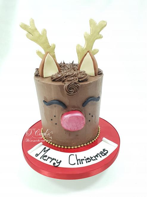 Rudolf the Reindeer Cake