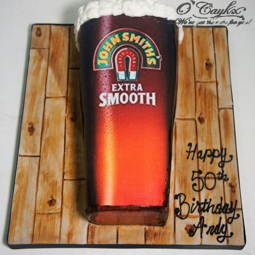 Beer Pint Cake