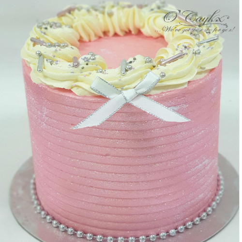 Glitz Effect Buttercream Cake