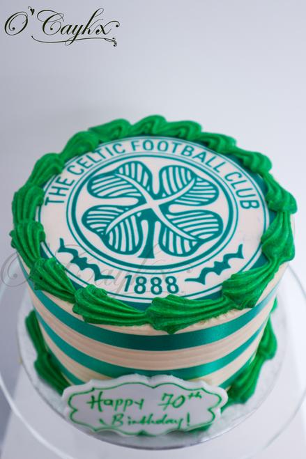 Celtic Buttercream Cake