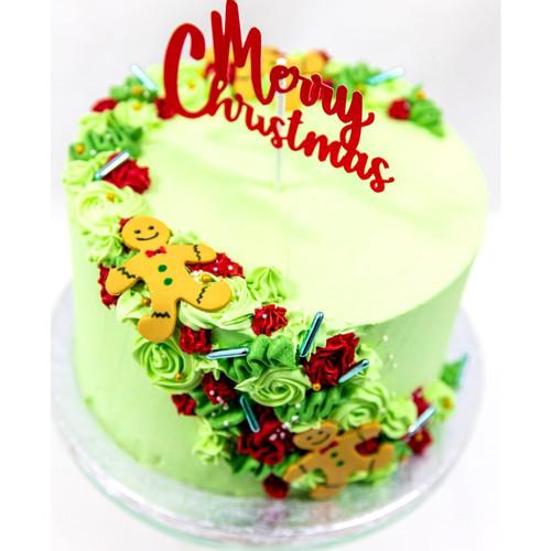 Ginger Bread Man Christmas Cake