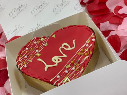Loveheart Brownie