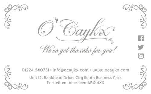Norwood Wedding Cake Booking