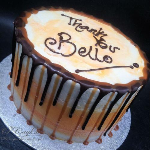 Caramel & Chocolate Drip cake BC0015
