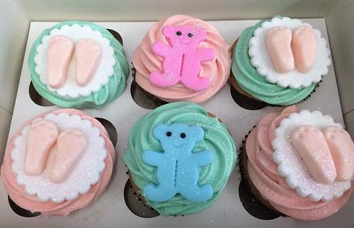 Boy/Girl Baby Cupcakes